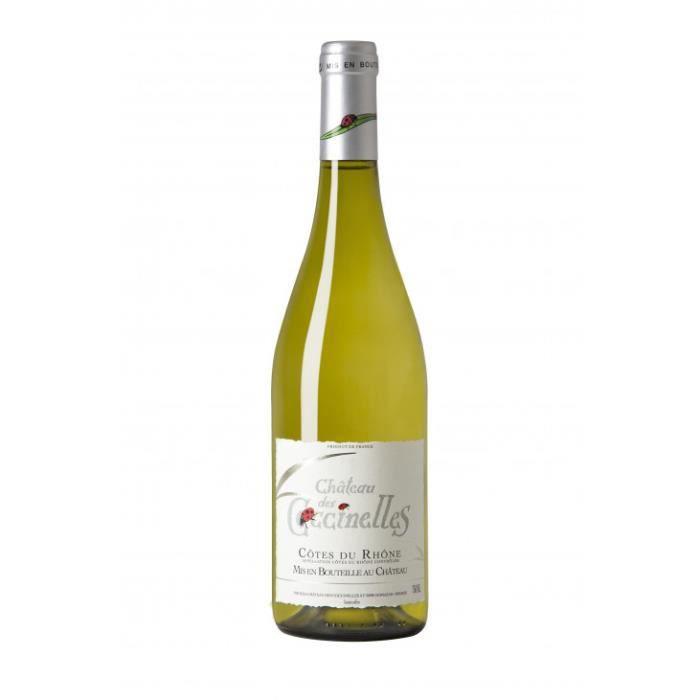 Château des Coccinelles AOP Côtes du Rhône vin blanc 13.5% vol