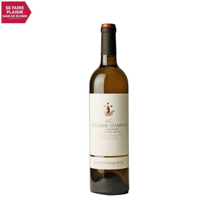 Villa Chambre d'Amour Blanc 2020 - 75cl - Lionel Osmin & Cie - Vin Doux Blanc du Sud-Ouest - Appellation VDF Vin de France doux - Or