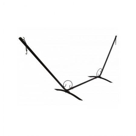 Accesoire indispensable pour installer facilement votre hamac dans votre jardin. Support en métal pour hamac très résistant.