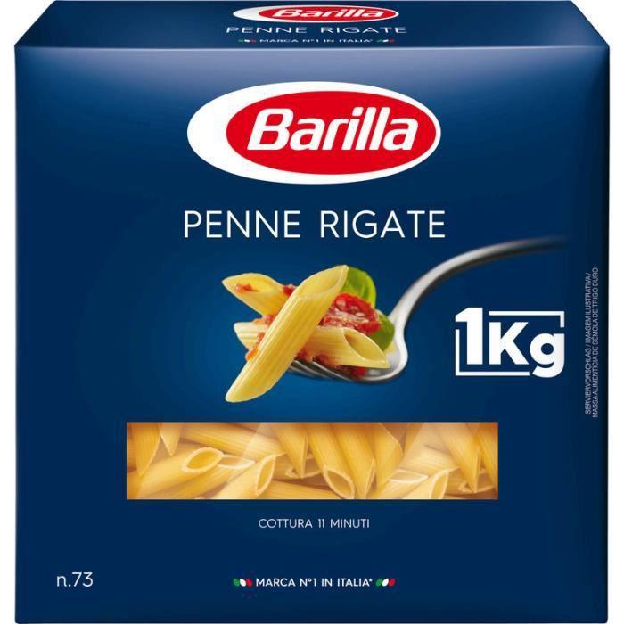 BARILLA Pâtes Penne Rigate - 1 kg