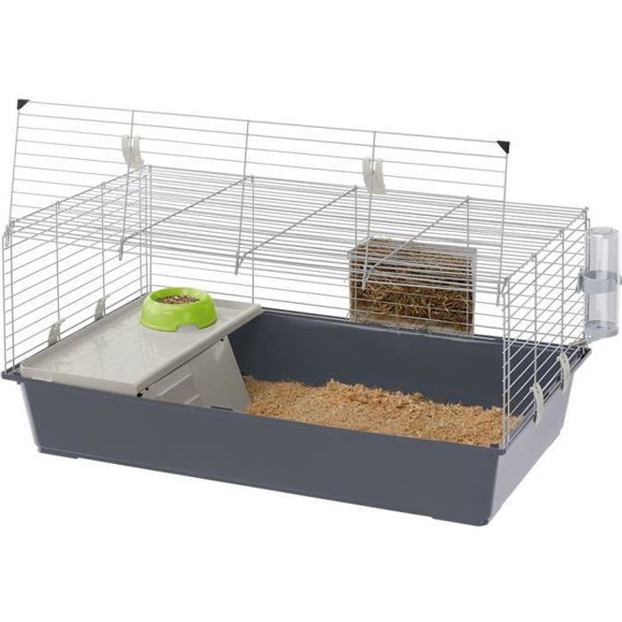 Cages pour lapins et cobayes Rabbit 100 Ferplast