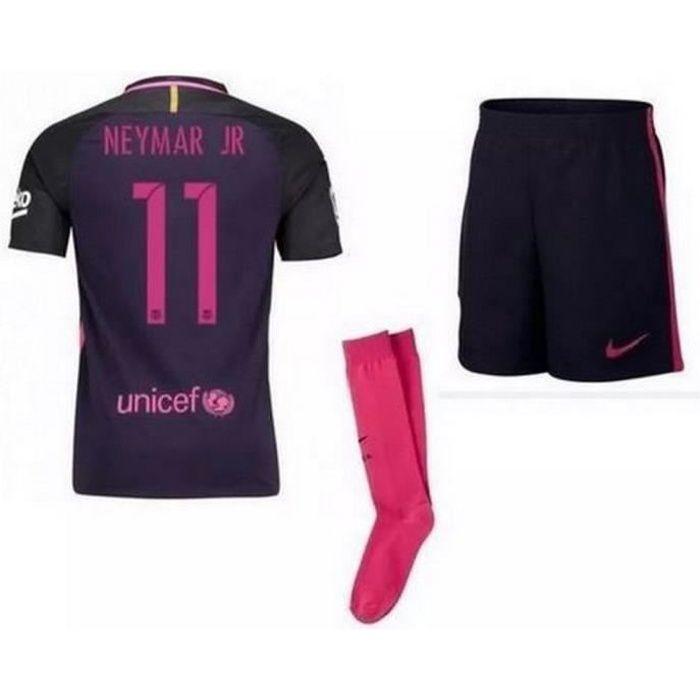 Mini-Kit Officiel Nike FC Barcelone Away Flocage Officiel Neymar Numéro 11 Saison 2016-2017