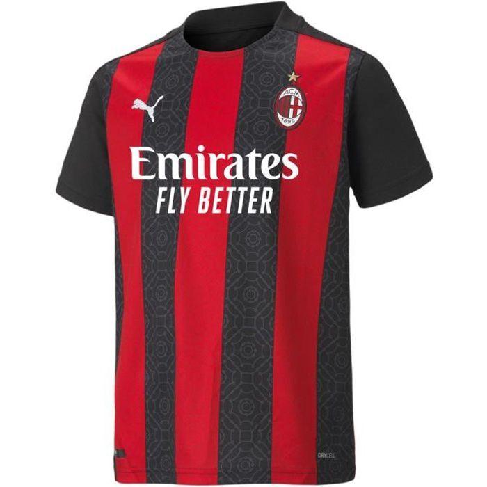 Puma Ac Milan Maillot Domicile Football 2020 2021 Enfants