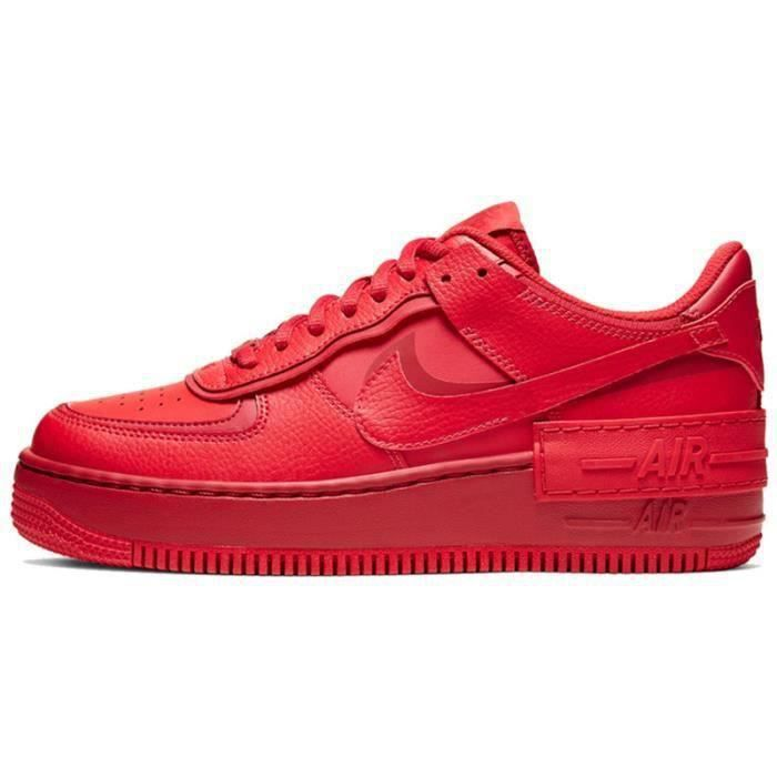 Basket Air Force 1 Shadow Air Force One AF 1 Low Chaussures de Running Femme CU3012-1661