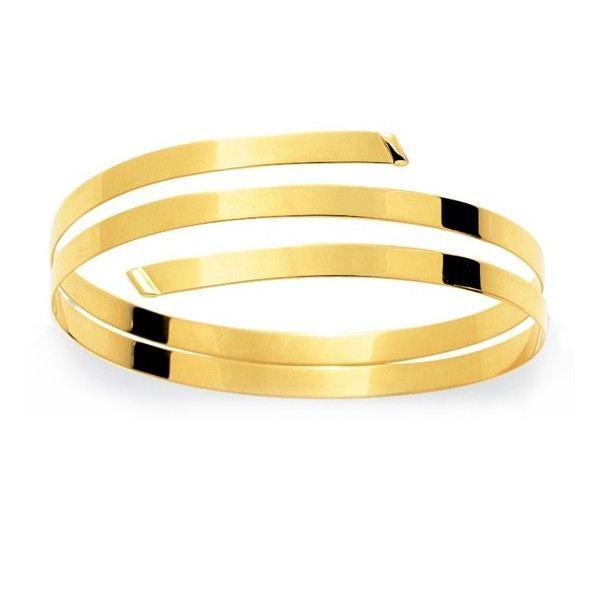 YSORA - Bracelet jonc or - Or Jaune