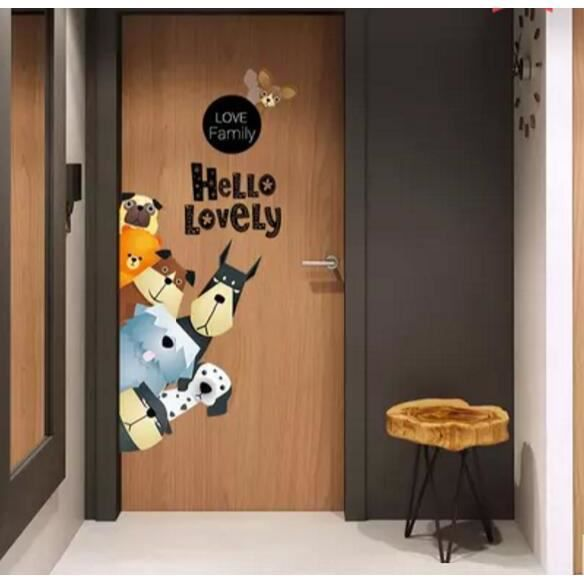 Jungle Autocollants Muraux Mural Stickers Chambre Enfants Bébé Garderie  Salon
