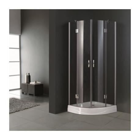 cabine de douche ronde 80 cm achat vente cabine de. Black Bedroom Furniture Sets. Home Design Ideas