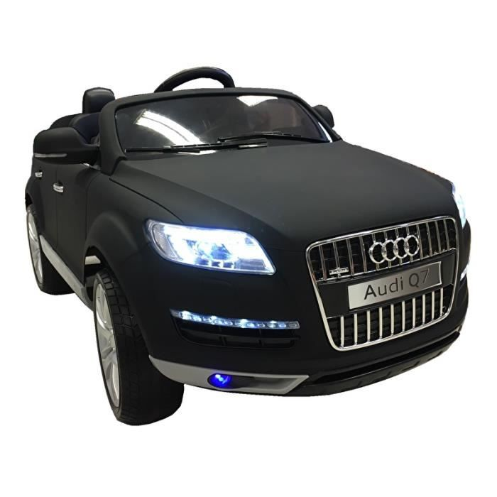 audi q7 noir mat voiture lectrique enfant 12v7ah 2. Black Bedroom Furniture Sets. Home Design Ideas