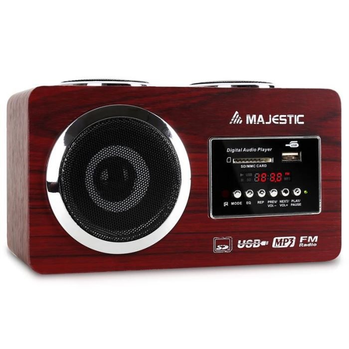 RADIO CD CASSETTE AH 173 Radio compacte lecteur MP3 USB SD AUX