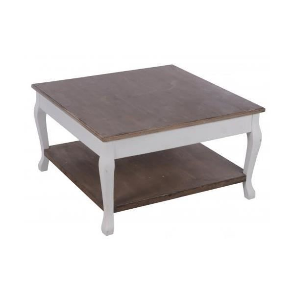 Table basse bois 80 cm achat vente table basse table for Table basse design 80 cm