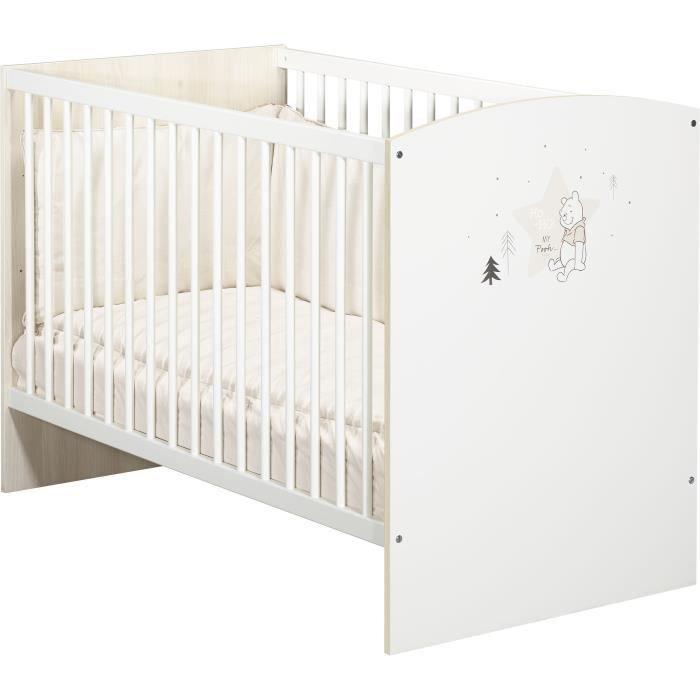 Baby Elegance voyage lit bébé drap Pack de 2 Blanc