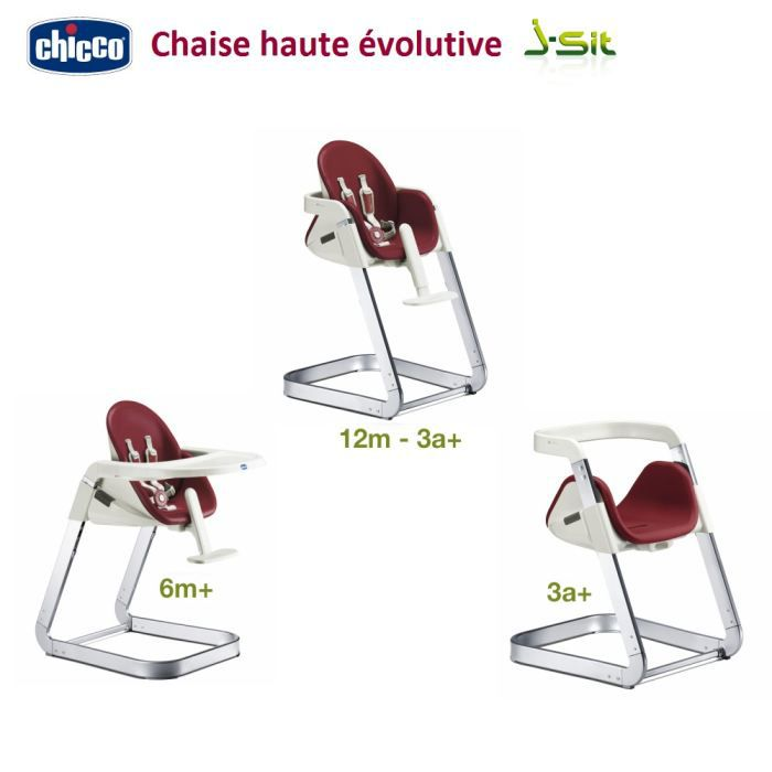 Chaise haute chicco chaise haute 3en1 polly magic ros for Chaise haute 3 en 1