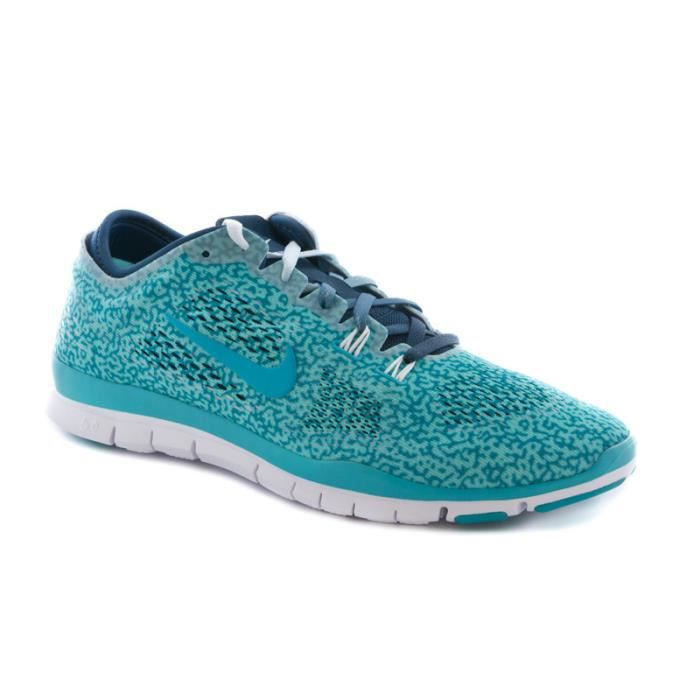 new concept 15d84 d7f07 Basket Nike free run 5.0 tr fit print turquoise.