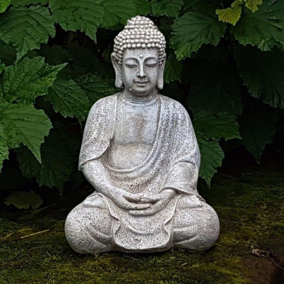 Bouddha Rieur Signification Position statue bouddha pour interieur ou exterieur - achat / vente