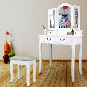 COIFFEUSE Ridgeyard Coiffeuse, Table de Maquillage avec tiro