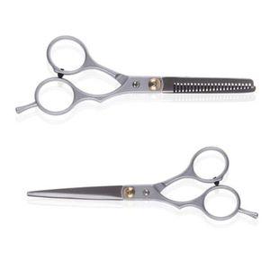 CISEAUX - EFFILEUR 2pcs Salon professionnel Barber coupe de cheveux C