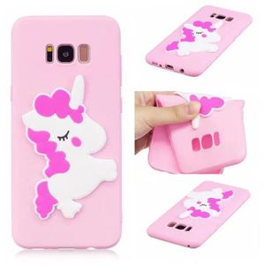 Coque Iphone 7dessin Animé Kawaii Mignon Licorne Cheval