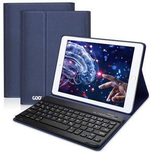 CLAVIER D'ORDINATEUR Clavier Bluetooth iPad Coque 9.7,AZERTY français,H