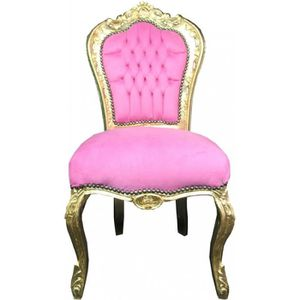 CHAISE Casa Padrino Chaise Baroque Rose Or Mod3