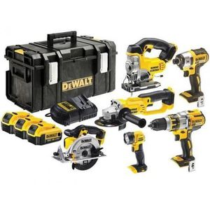 PACK DE MACHINES OUTIL DEWALT DCK694P3 Pack 6 machines 18 V Li-Ion 3 x 5,