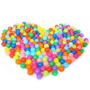 BALLE - BOULE - BALLON Elisona®  100pcs 7cm piscine balles bebe plastique