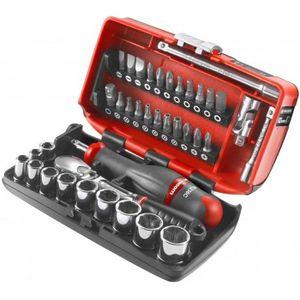 Facom R360NANO.PG Coffret Compact de serrage 1//4 avec set de vissage 38 outils