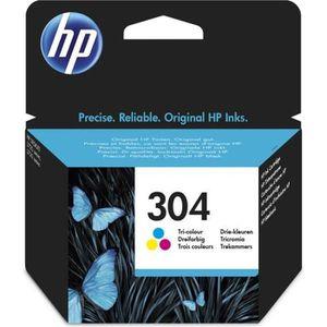CARTOUCHE IMPRIMANTE HP 304 cartouche d'encre trois couleurs authentiqu