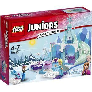 ASSEMBLAGE CONSTRUCTION LEGO® Juniors 10736 L'Aire de Jeu d'Anna et Elsa