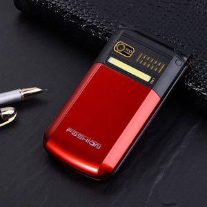 Téléphone portable g9000 flip phone écran tactile de téléphone portab