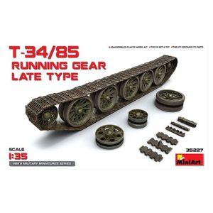 ASSEMBLAGE CONSTRUCTION Maquette Train de roulement : T-34/85 Running Gear