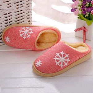 CHAUSSON - PANTOUFLE Femmes d'hiver chaussures de maison en intérieur f
