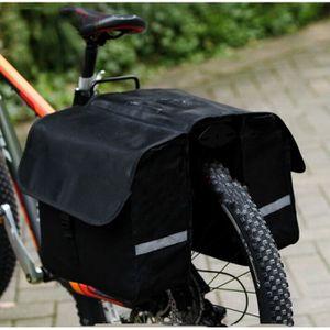 PANIER - SACOCHE VÉLO Sacoche double arrière de vélo 28L porte-bagages é