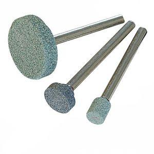 FRAISE - MEULE A TIGE Kit de 3 meules à rectifier en carbure de silic…