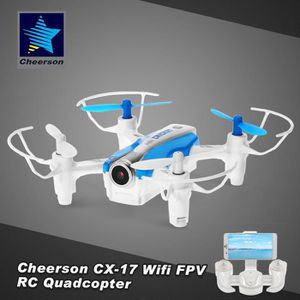 DRONE Cheerson CX-17 CRICKET RC Drone Wifi FPV 0.3MP Cam