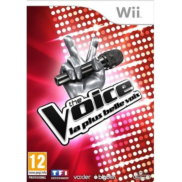 the voice jeu wii achat vente jeux wii the voice jeu wii cdiscount. Black Bedroom Furniture Sets. Home Design Ideas