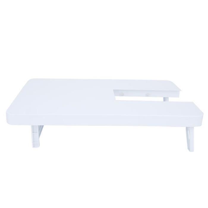 Tableau d'extension en plastique de table d'extension de machine à coudre