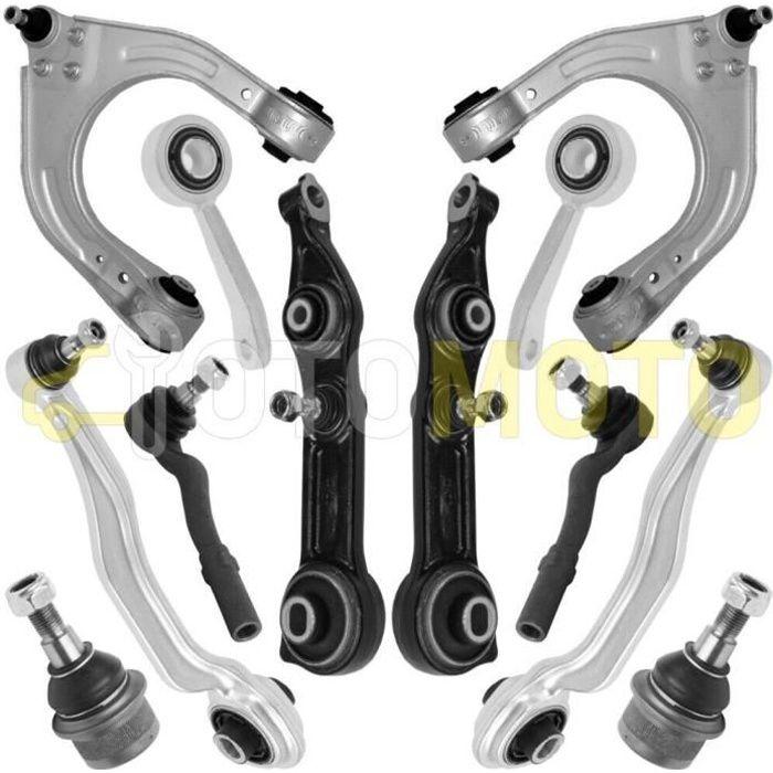 Kit bras de suspension avant compatible MERCEDES E W211 S211 CLS C219 composé de 12 pièces