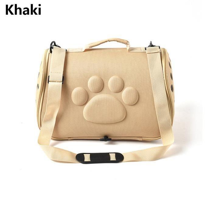Sac de transport,Sac de transport pour chien Portable chats sac à main pliable en plein air sac de voyage - Type C-52x27x28 CM