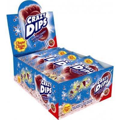 Chupa Chups crazy dips Cola 24 pièces