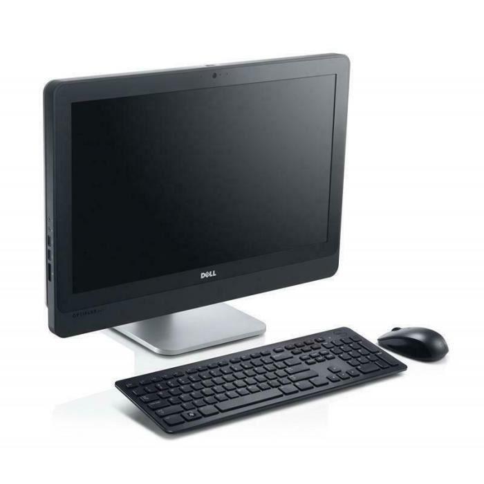 Dell Ordinateur tout en un Pentium 4Go 128Go Ssd Ecran 23'' Windows 10 Pro