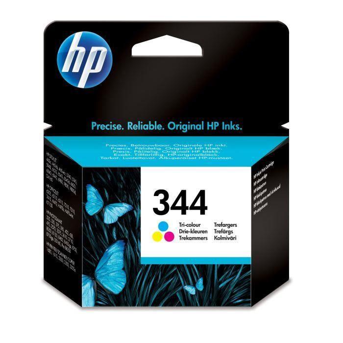 HP 344 Cartouche d encre Trois couleurs authentique (C9363EE)