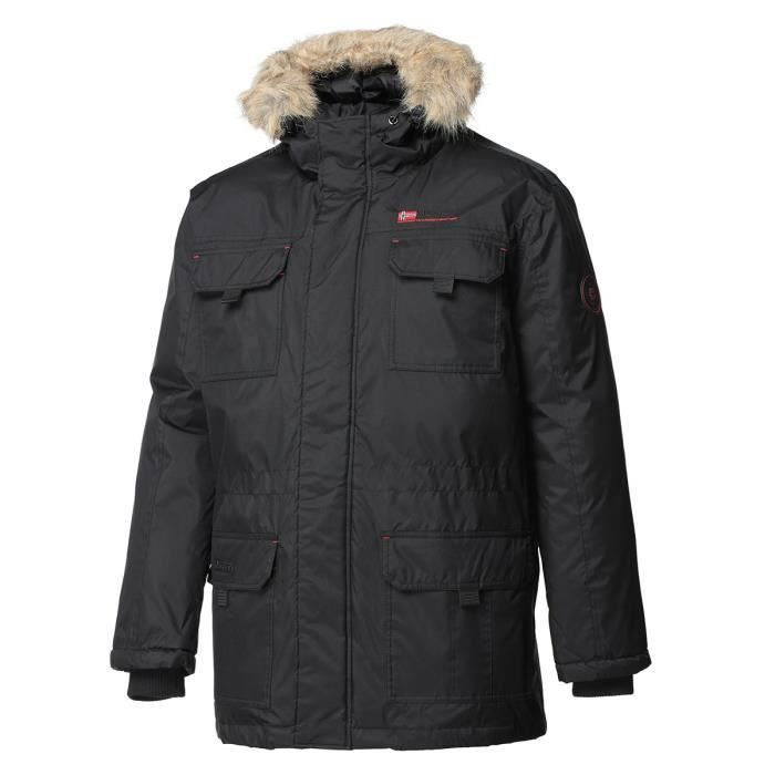 GEOGRAPHICAL NORWAY Parka Arsenal 068 - Homme - Noir
