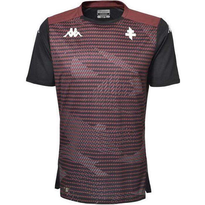 Kappa - Maillot Aboupre Pro 5 FC Metz Homme Noir