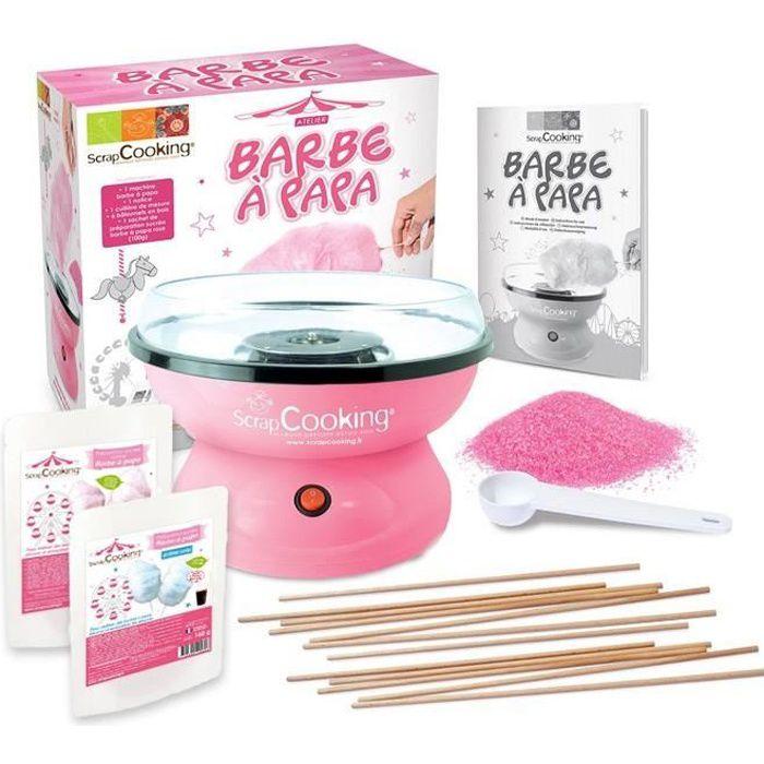 Machine Barbe à papa + kit de préparation