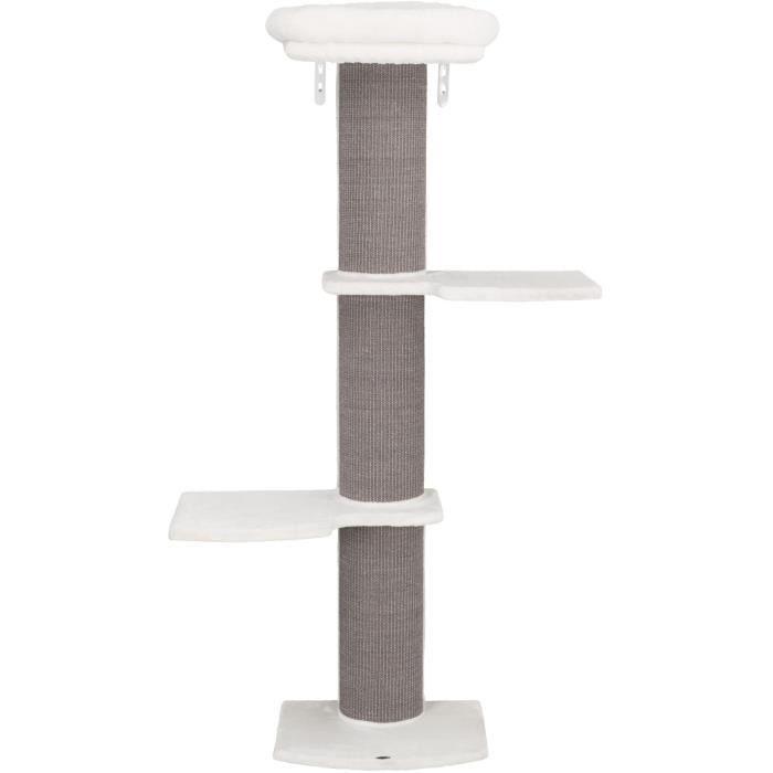 TRIXIE Arbre à chat Acadia à monter au mur - 160 cm - Gris