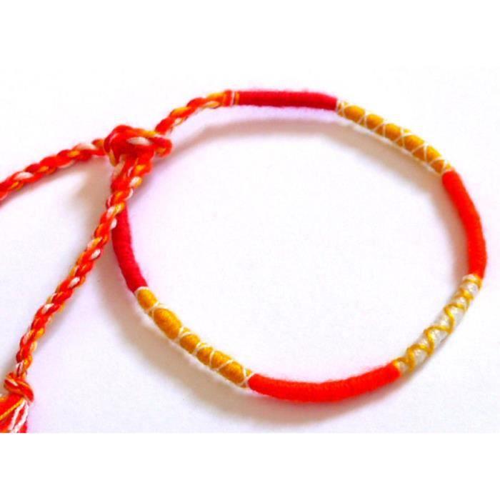 bracelet bresilien coton