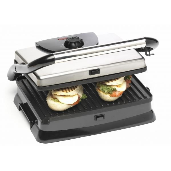 grill panini grand mod le 2000w inox achat. Black Bedroom Furniture Sets. Home Design Ideas