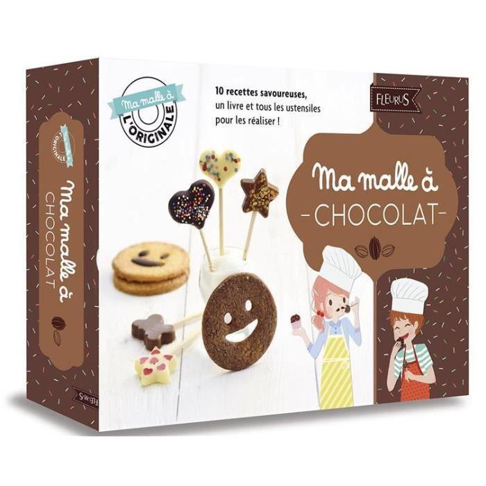 LIVRE 0-3 ANS ÉVEIL Livre - MA MALLE A ; chocolat