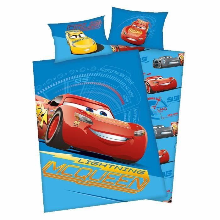 HOUSSE DE COUETTE SEULE Disney Cars - Enfants Housse Couette & Taie Révers