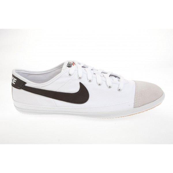 Basket Nike Flash Toile - Ref. 3… Blanc Blanc Blanc - Cdiscount ...